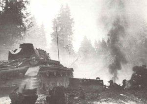 Panzerspitzen schließen den Kessel von Wjasma