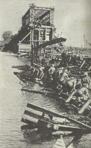 Instandsetzung einer Brücke über den Dnjepr