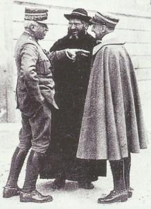 Der italienische Oberbefehlshaber Cadorna
