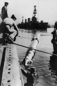 russisches U-Boot übernimmt Torpedos