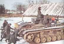 Panzer III vor Moskau