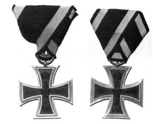 Eisernen Kreuz II. KLasse von 1914