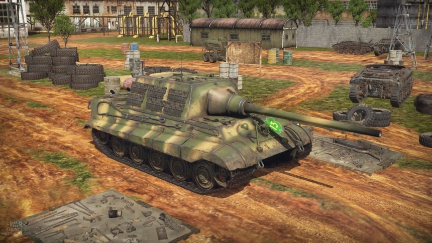 Jagdtiger in War Thunder