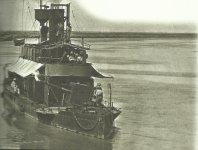 britisches Kanonenboot auf dem Tigris