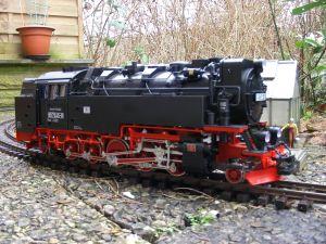 DR-Dampflokomotive 99 7245-6