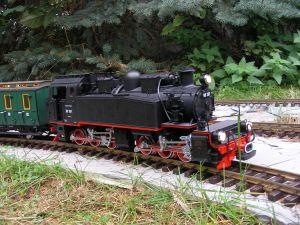 Mallet-Dampflokomotive 99 201