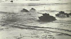 Angriff russischer T-34