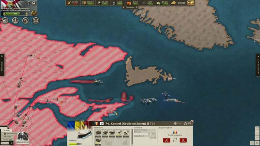 Tag 61: Zerschlagug einer rumänischen Invasionsflotte