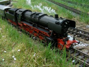 Dampflokomotive BR 50