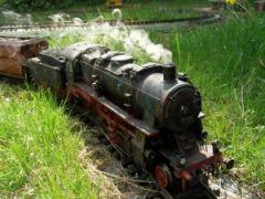 Dampflokomotive BR 58 - Werksalterung