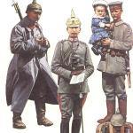 Deutsche Uniformen 1. Weltkrieg