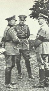 Blomberg, Fritsch, Hitler (1935)