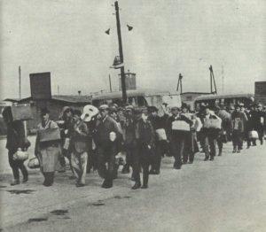 'Fremdarbeiter' für den Aufbau der 'Reichswerke Hermann Göring'