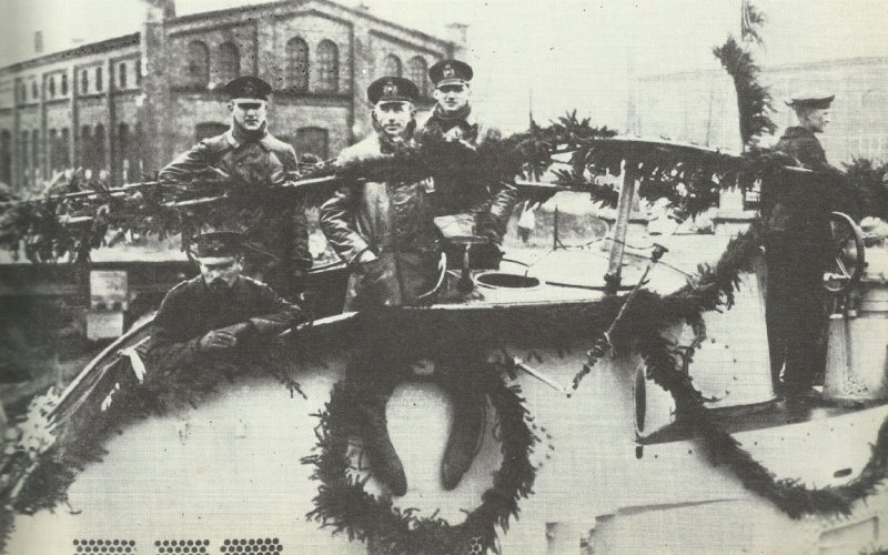 Kriegstagebuch 1. Februar 1917