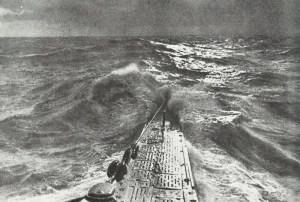 Bug eines deutschen U-Boot