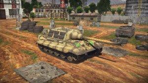 Jagdtiger in War Thunder.