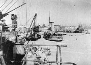 Russische Ostseeflotte in Leningrad