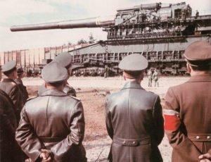 Eisenbahngeschütz 'Schwerer Gustav'