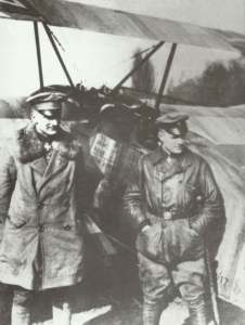 Manfred und Lothar von  Richthofen