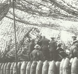 Britische Haubitze Arras