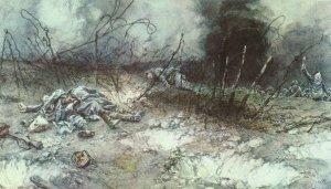 Französischer Infanterie-Angriff
