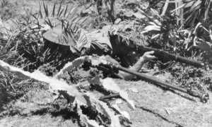 Britische Soldaten mit einer Boys-Panzerabwehrbüchse