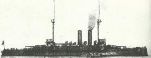 japanische Vor-Dreadnought 'Asahi'
