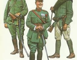 Griechische Armee 1. Weltkrieg