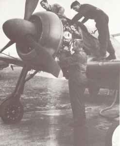 Engländer untersuchen Fw 190