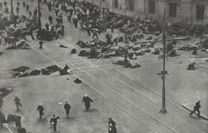 Bolschewistischer Aufstandsversuch
