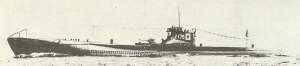 japanisches Unterseeboot