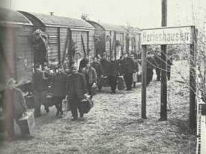 Ankunft Kriegsgefangene 1955