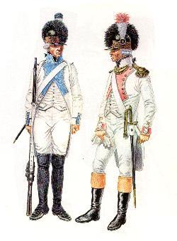 Französische Infanterie 1791