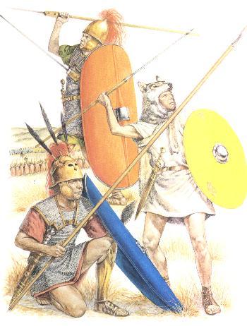 Triarius, Hastatus oder Princeps, Veles