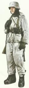 Deutscher Soldat ab dem Winter 1942/43