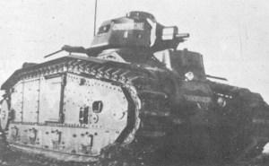 Char B1 mit kurzer 47-mm-Kanone