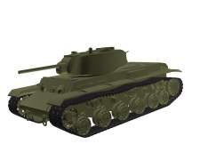 3d-Modell KW-1S