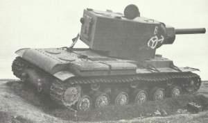 ausgeschalteter KW-2 'Dreadnought'