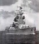 schwere Kreuzer 'Admiral Scheer'