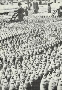 Fabrik für Artillerie-Granaten