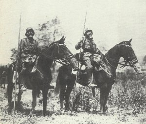 vorgeschobene deutsche Patrouille