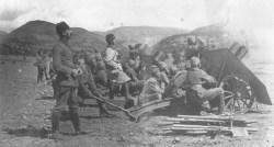 Türkische leichte Artillerie