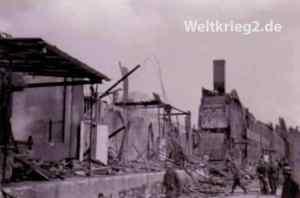 zerstörte Genäude in Kristiansand