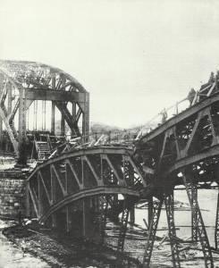 deutsche Truppen überqueren Düna
