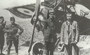französische Flieger-Ass Georges Guynemer
