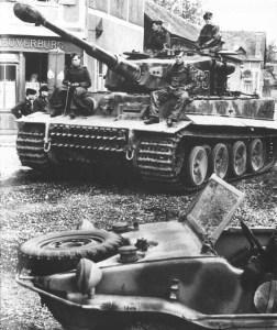 Tiger-Panzer der schweren Panzer-Abteilung 101