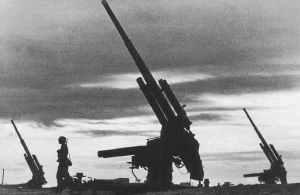 deutsche Flak-Batterie