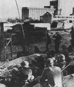 Getreidesilo von Stalingrad