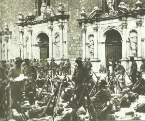 Deutsche Soldaten in Riga