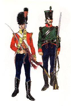 Britische leichte Infanterie 1796-99